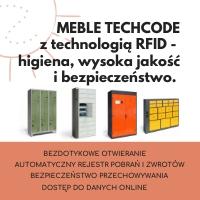 MEBLE TECHCODE - higiena, bezpieczeństwo i wysoka jakość
