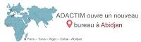 Adactim  ouvre un bureau à Abidjan