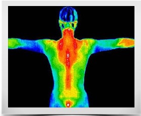 INFRARED WITH HUMAN BODY