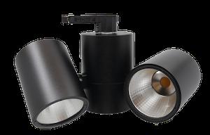 SPOTLIGHT TWIST LED 3-Phasen Doppel-Schienenstrahler