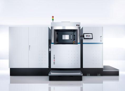Das neue System EOS M 400-4 sprengt Fertigungsgrenzen