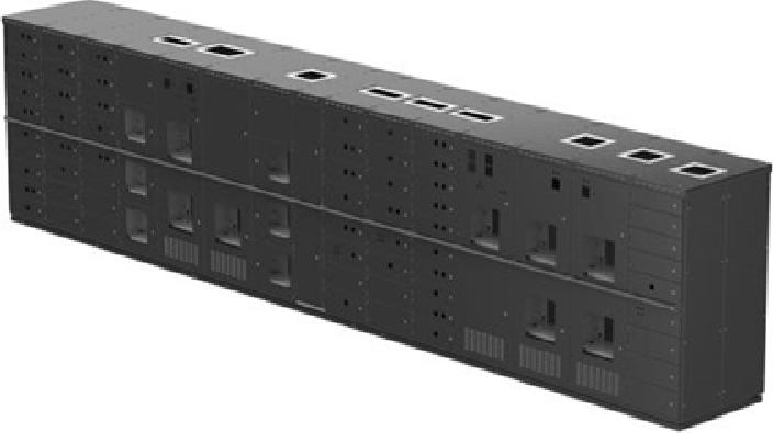Custom chassis / switchboard