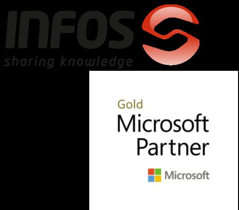 INFOS é Gold Partner da Microsoft
