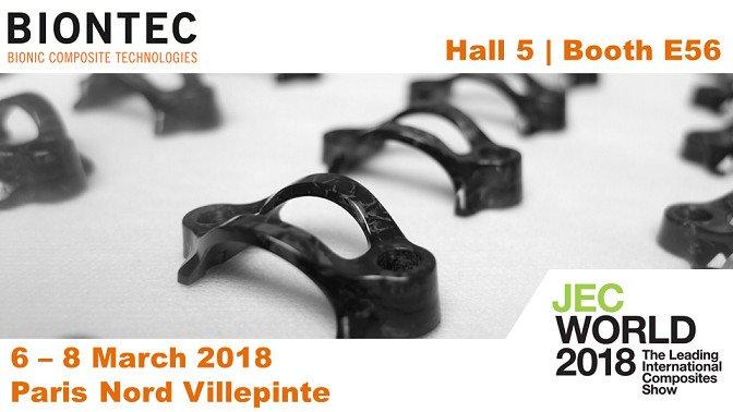 BIONTEC auf der JEC World 2018