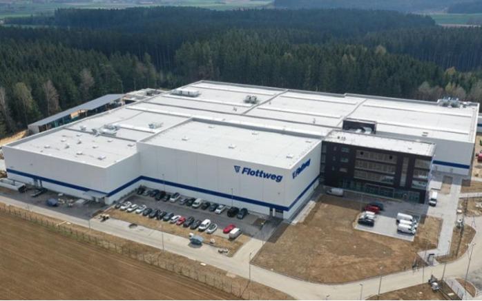 Flottweg открывает свой второй завод в Вильсбурге