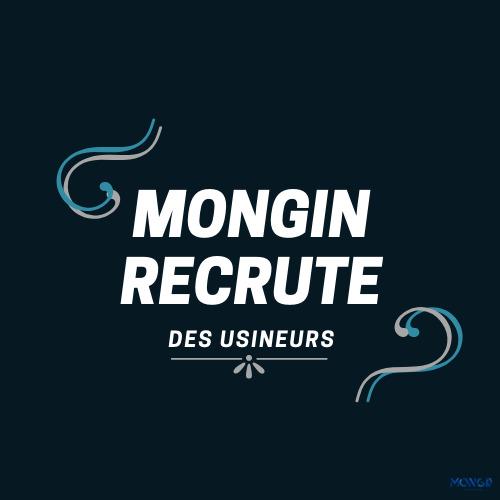 MONGIN Recrute des usineurs - Offre d'emploi