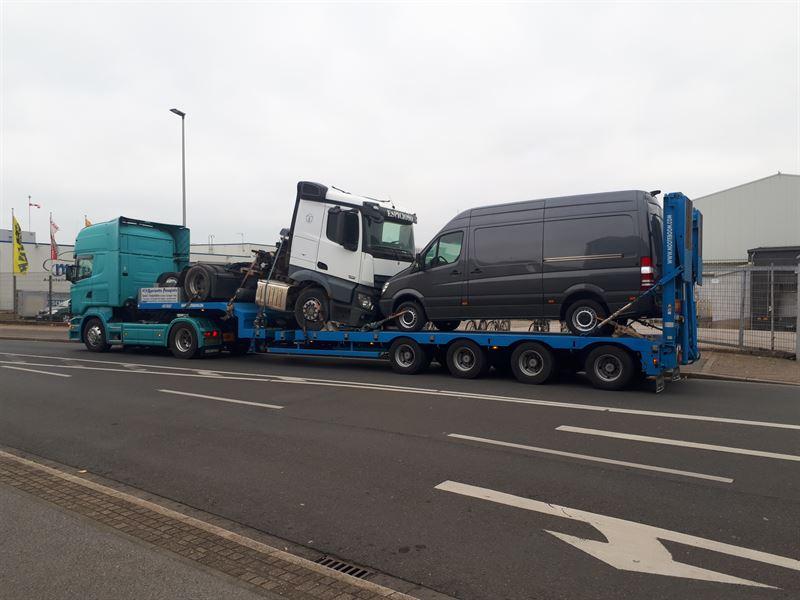 SCHWERE FAHRZEUGE TRANSPORT DEUTSCHLAND - GRIECHENLAND