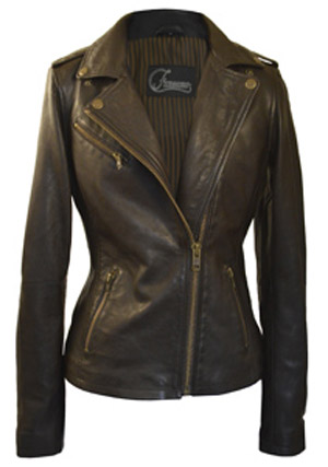 Faneema Riva Espresso Leather Jackets