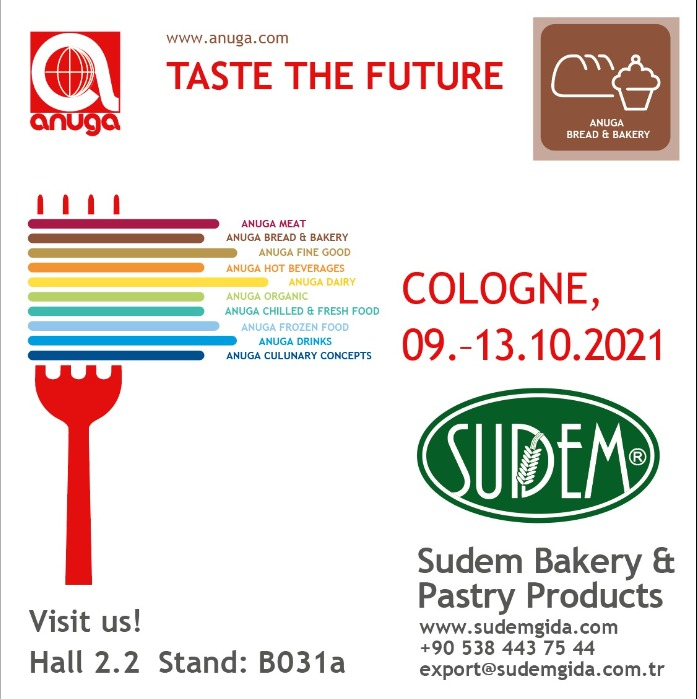 Anuga Exhibition 2021 in Cologne, Germany