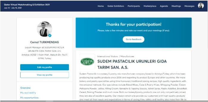 Qatar Virtual Matchmaking & Exhibition 2021