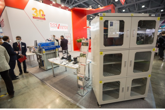 Sovtest ATE at ExpoElectronica 2021