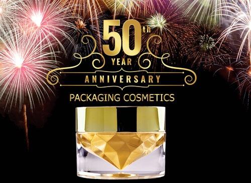 50e anniversaire – Faca Packaging Cosmetics