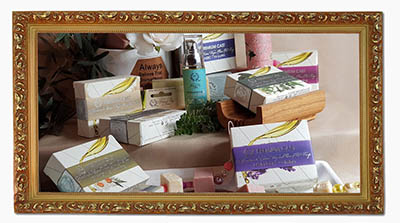 Toxic-free truly natural skincare handmade in Greece.