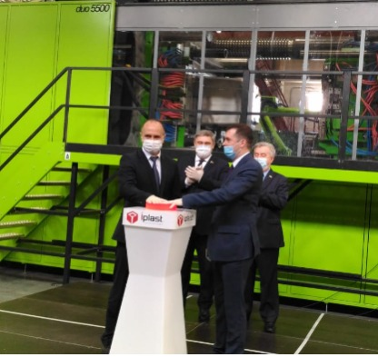 IPLAST has commissioned IMM Engel Duo5500 in the city of Azo