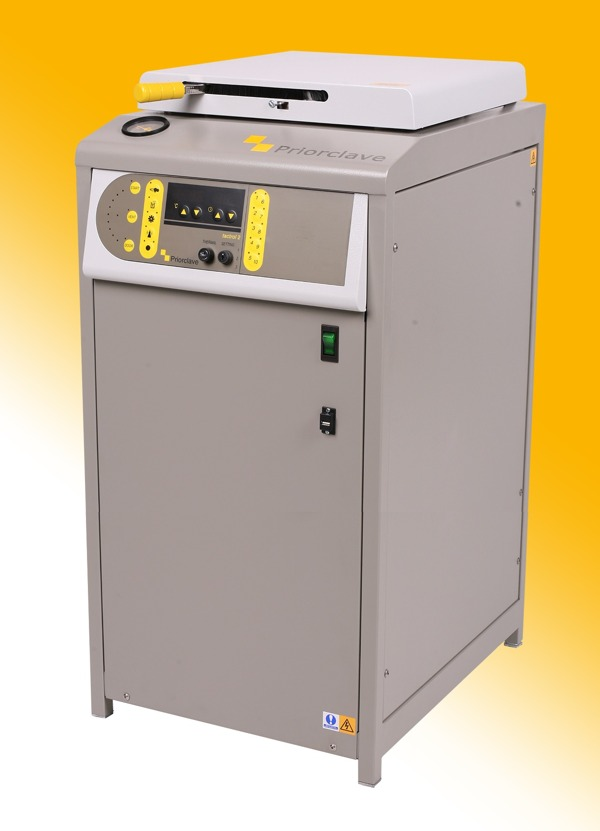 Priorclave Launches New Top Loading Autoclave