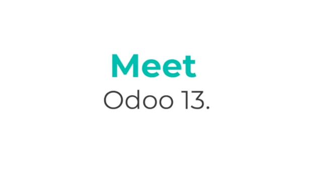 Nouveauté Odoo V13