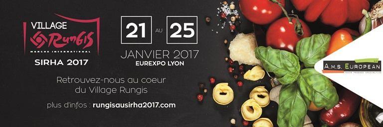 RETROUVEZ AMS EUROPEAN au Village Rungis pour le SIRHA 2017