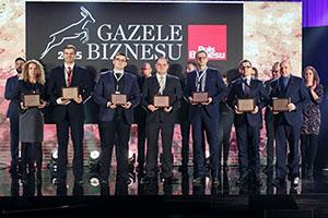 Base Group was awarded the title of Gazela Biznesu