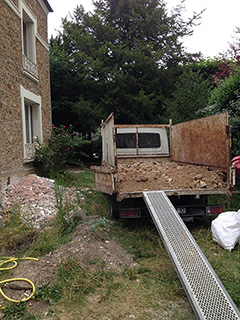 Terrassement et débarras à Versailles, 78000