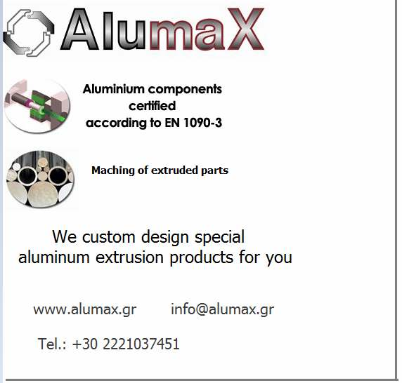 ALUMINIUM COMPONENTS CERTIFIED EN 1090-3
