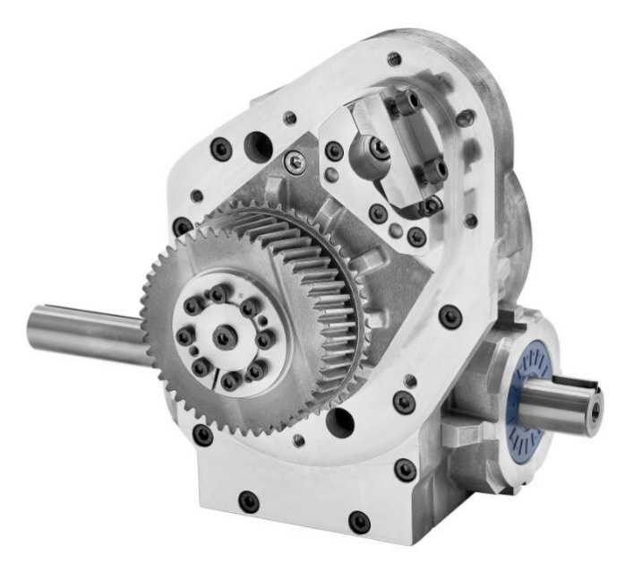 Application example SPN worm gear for weaving mashine