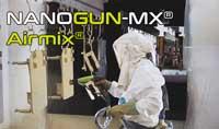 The innovative NANOGUN-MX® Airmix® Electrostatic Spraygun