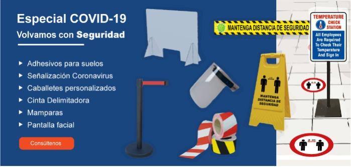 Especial Señalización y Delimitación Covid-19