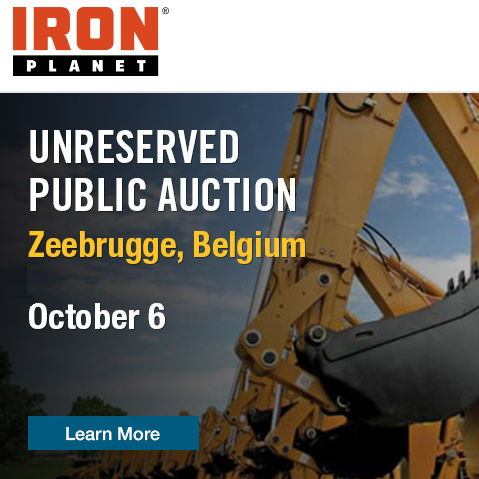 IronPlanet® announce partnership with Bergerat Monnoyeur