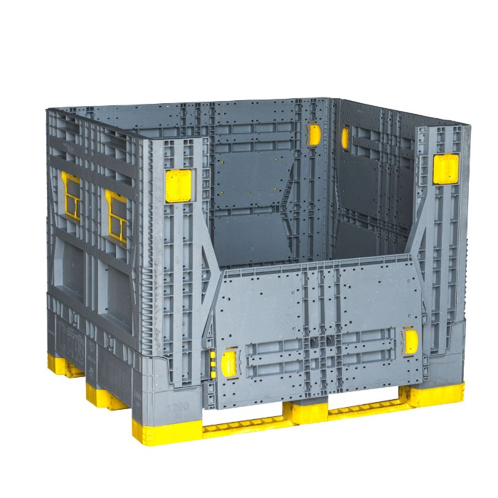 Plastic pallet boxes designed for your safety stock