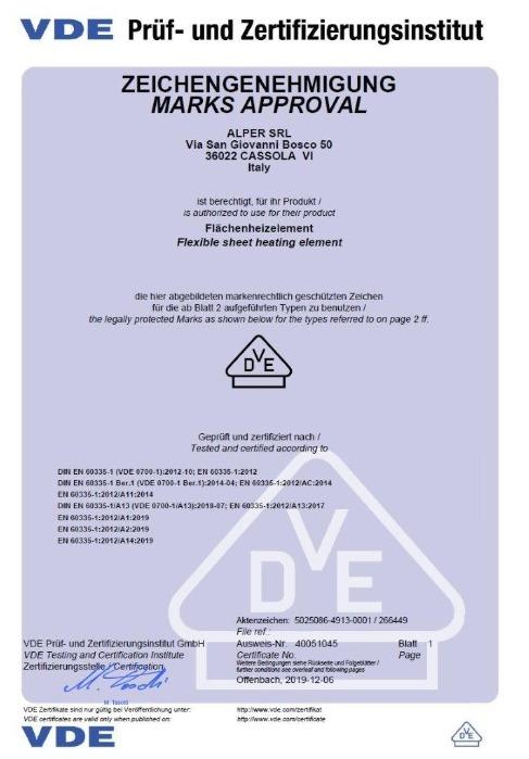 Certificazione VDE