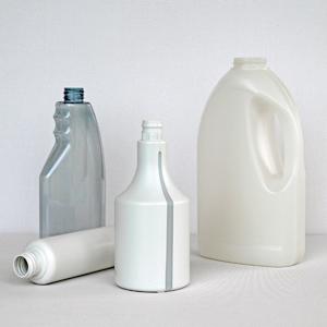 Plastic Bottles Made of Granulate