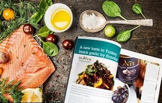 Eravital is on Food Turkey Magazine