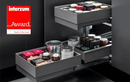 Innovative corner cabinet solution