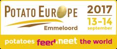 Potato Europe 2017 - Stand F13!