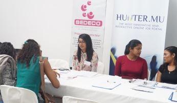 SEDECO présente ses postes à pourvoir au Job Fair