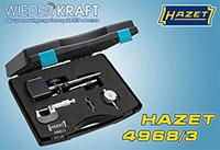 Как проверить биение тормозных дисков с помощью HAZET 4968/3