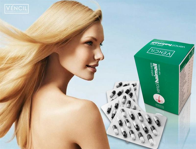 Thicken your hair & strengthen your nails _ Vencil hairnail
