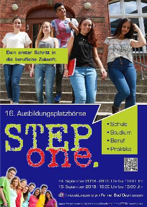Ausbildungsplatzbörse STEPone 2018