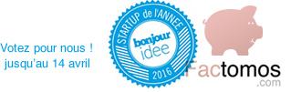 Factomos participe au concours de la startup de l'année 2016