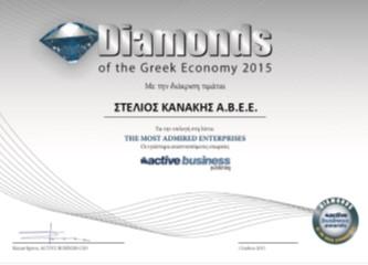 DIAMOND OF THE GREEK ECONOMΥ 2015