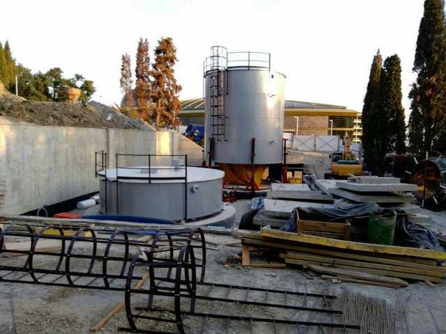 Изготовление и монтаж резервуаров для питьевой воды