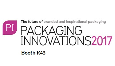 Please visit us at PACKAGING INNOVATIONS 2017
