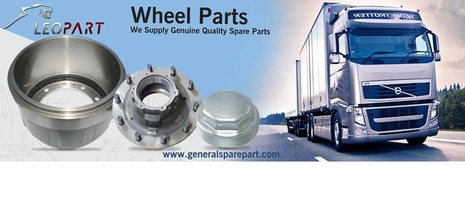 General spare part truck and trailer components