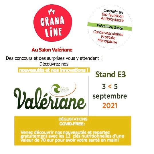 Retrouvez-nous du 3 au 5 septembre 2021 au Salon BIO Valéria
