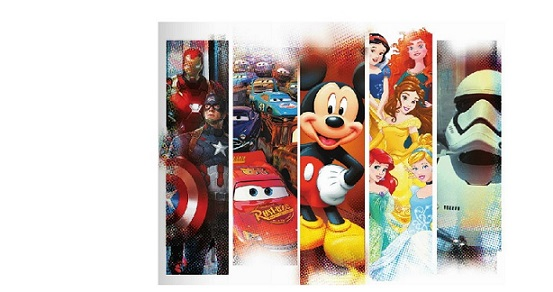 Sacs Disney, Marvel et Star Wars