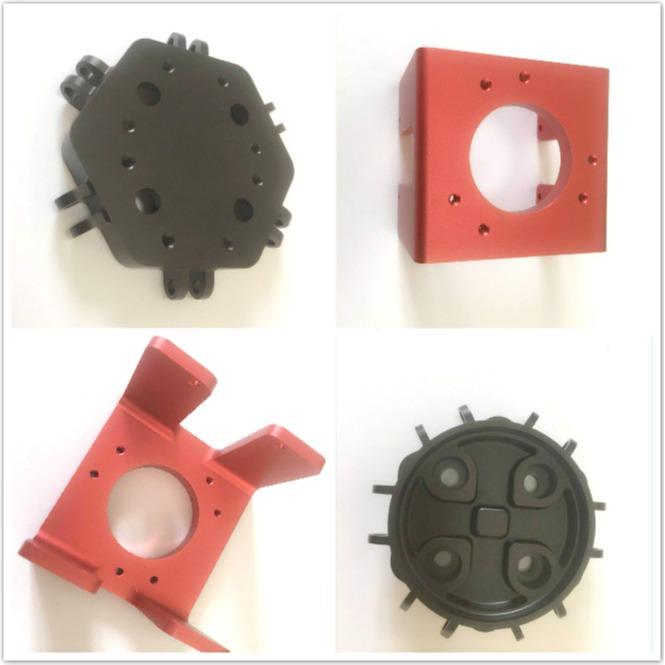 Custom cnc machined anodized aluminum