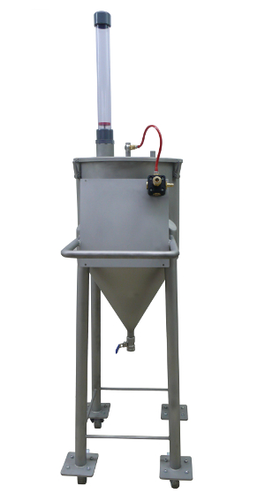 Edelstahl-Druckloser Mediumbehälter DMB2-50-fahrbar