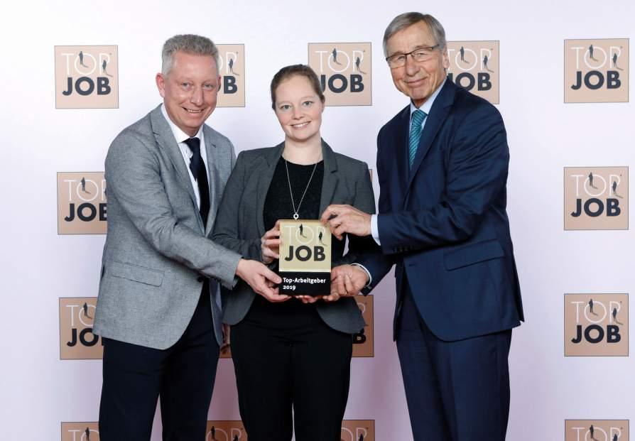 """KIPP receives the """"TOP JOB 2019"""" award"""