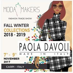 Moda Makers evento per Paola Davoli Carpi