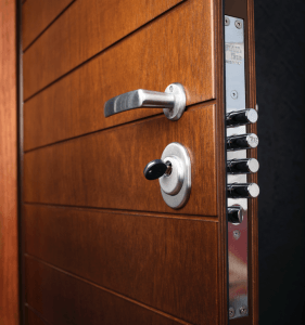 THREE TYPES OF SECURITY DOORS.